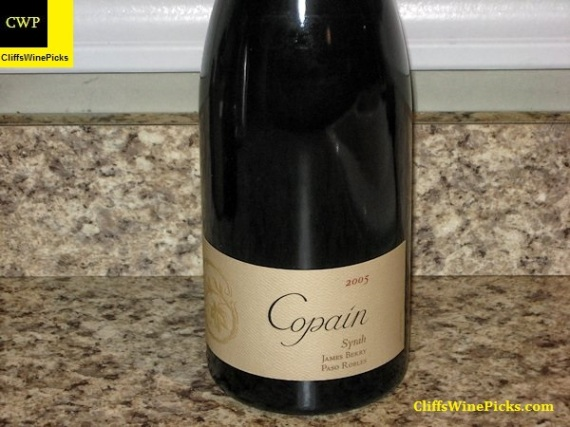 2005 Copain Syrah James Berry Vineyard