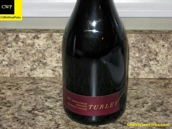 2009 Turley Zinfandel Fredericks Vineyard