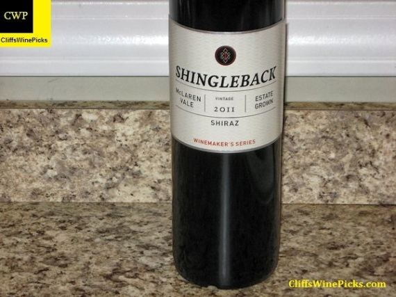 2011 Shingleback Shiraz Wine Maker's Series