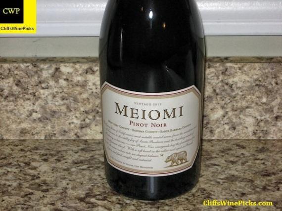 2013 Meiomi Pinot Noir