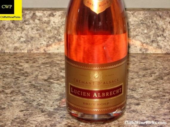 N.V. Lucien Albrecht Crémant d'Alsace Brut Rosé