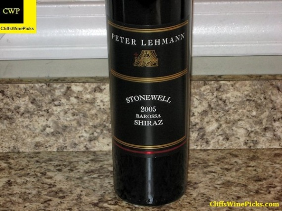 2005 Peter Lehmann Shiraz Stonewell