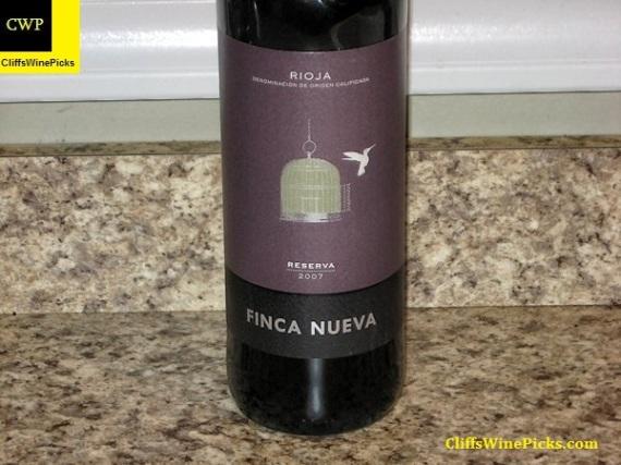 2007 Finca Nueva Rioja Reserva