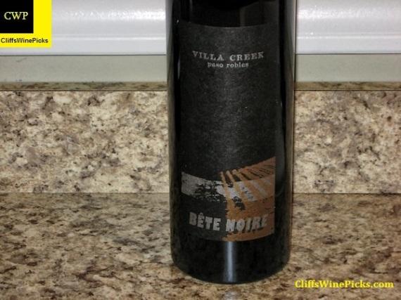 2008 Villa Creek Bête Noire