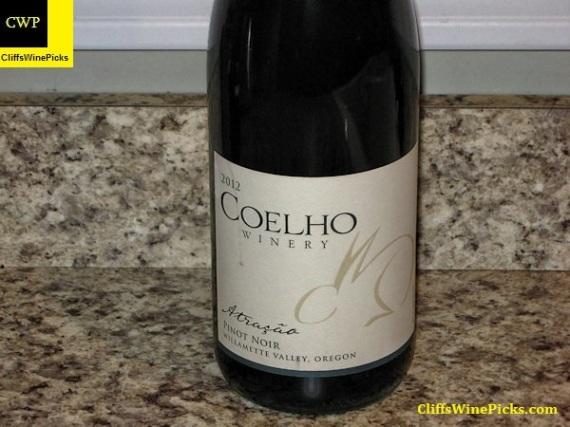 2012 Coelho Winery Pinot Noir Atracao