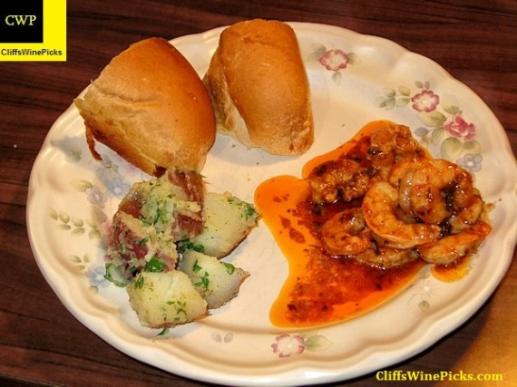 Spicy New Orleans Barbecue Shrimp