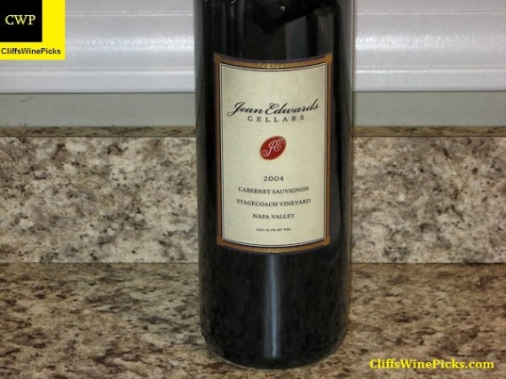 2004 Jean Edwards Cellars Cabernet Sauvignon Stagecoach Vineyard