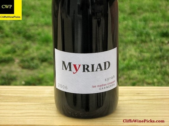 2006 Myriad Cellars Syrah Las Madres Vineyard