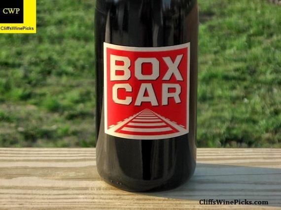 2007 Red Car Syrah Boxcar