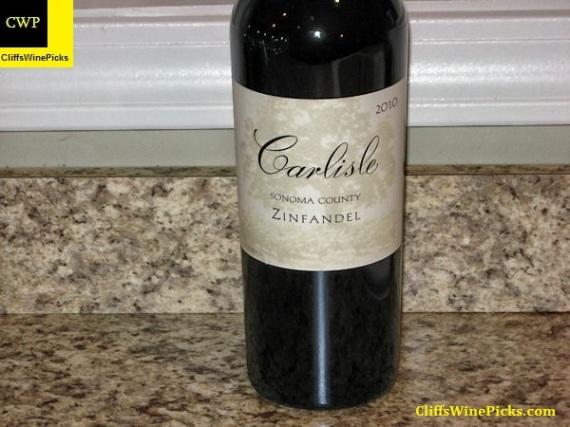 2010 Carlisle Zinfandel Sonoma County