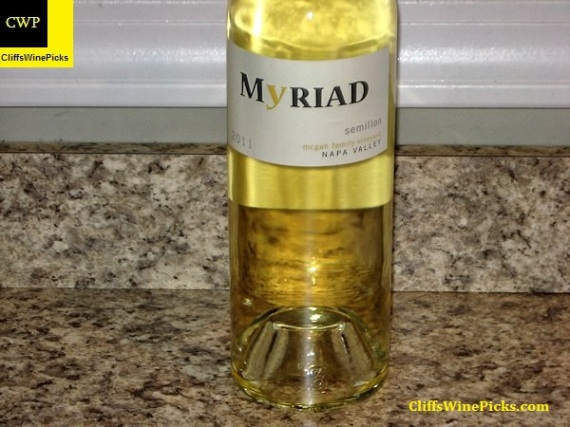 2011 Myriad Cellars Sémillon McGah Family Vineyard