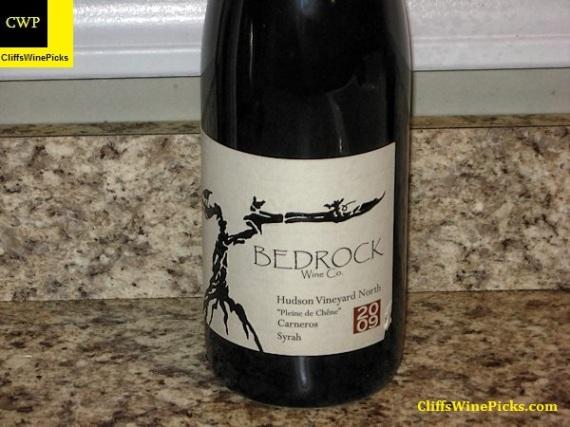 2009 Bedrock Wine Co. Syrah Pleine de Chene Hudson Vineyard North