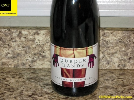 2010 Purple Hands Pinot Noir Stoller Vineyard