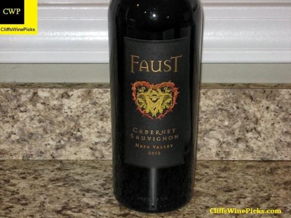 2012 Faust Cabernet Sauvignon