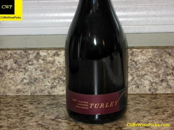 2009 Turley Zinfandel Mead Ranch