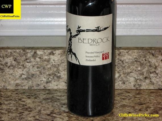 2011 Bedrock Wine Co. Zinfandel Puccini Vineyard