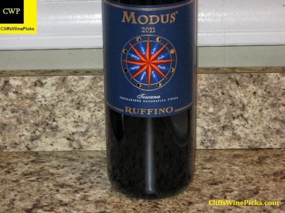 2011 Ruffino Modus Toscana IGT