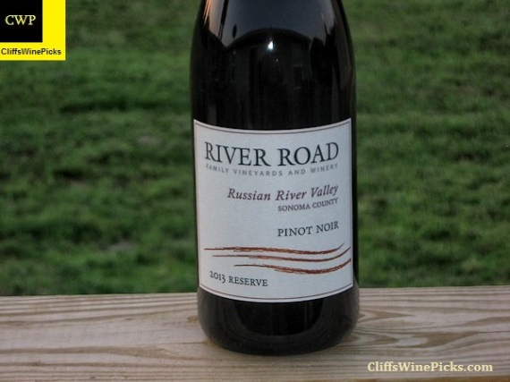 2013 River Road Vineyards Pinot Noir Reserve Selection Russian River Valley