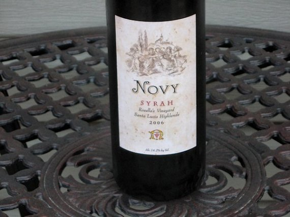 2006 Novy Family Wines Syrah Rosella's Vineyard