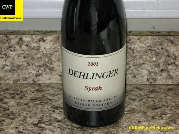 2001 Dehlinger Syrah
