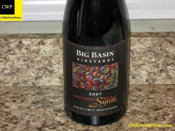 2007 Big Basin Vineyards Syrah Rattlesnake Rock