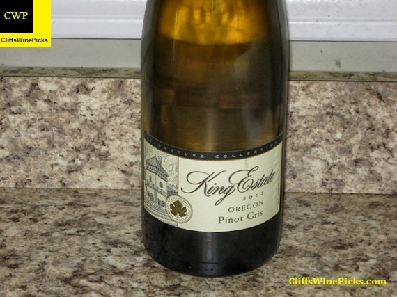 2013 King Estate Pinot Gris Signature Collection