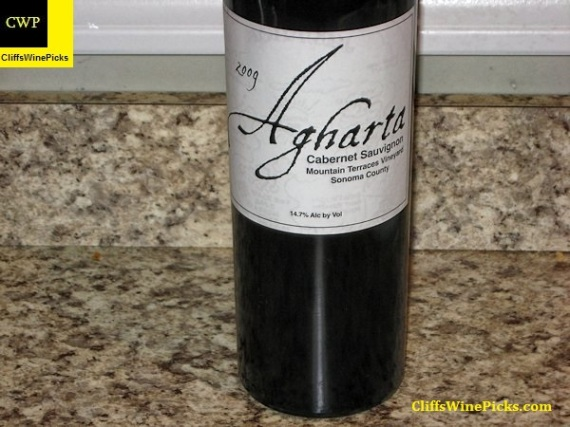 2009 Agharta Wines Cabernet Sauvignon White Label Mountain Terraces Vineyard
