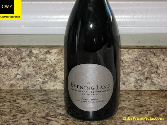 2011 Evening Land Vineyards Pinot Noir La Source Seven Springs Vineyard