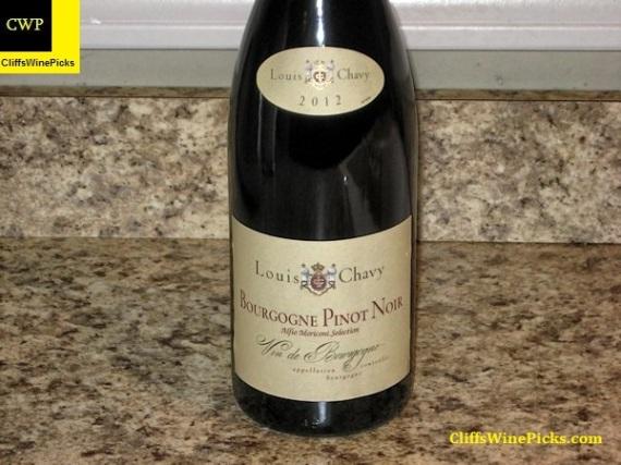 2012 Louis Chavy Pinot Noir Bourgogne