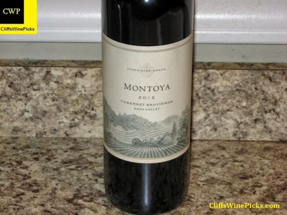 2012 Montoya Vineyards Cabernet Sauvignon Napa Valley