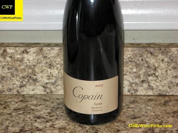 2007 Copain Syrah Brosseau Vineyard