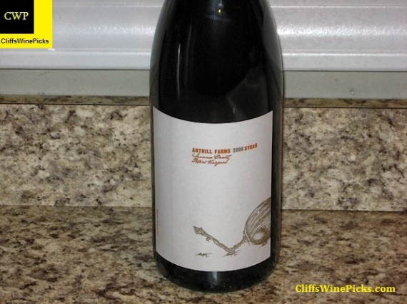 2008 Anthill Farms Syrah Peters Vineyard