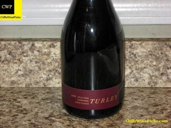 2008 Turley Zinfandel Mead Ranch