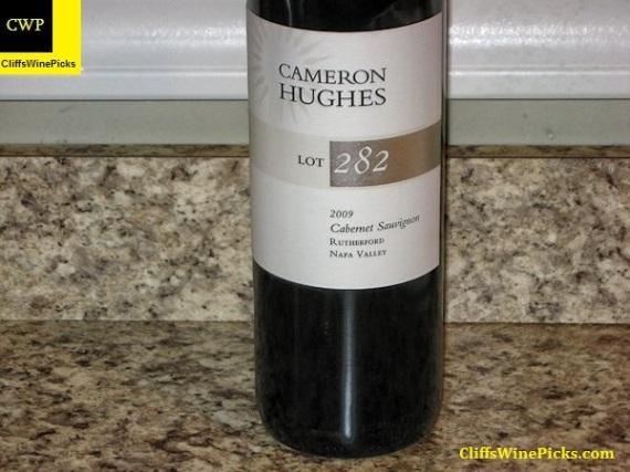 2009 Cameron Hughes Cabernet Sauvignon Rutherford Lot 282