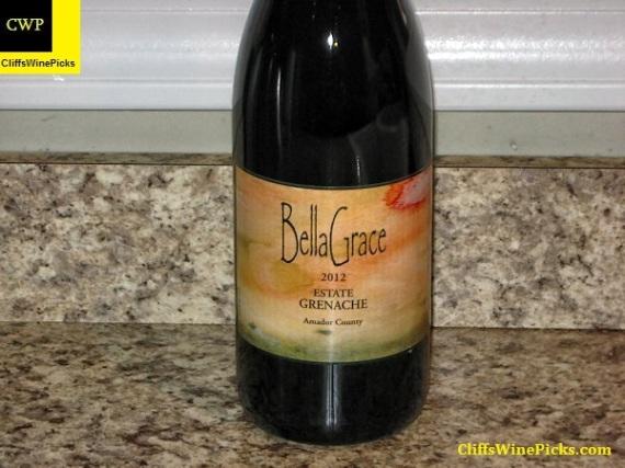 2012 BellaGrace Vineyards Grenache