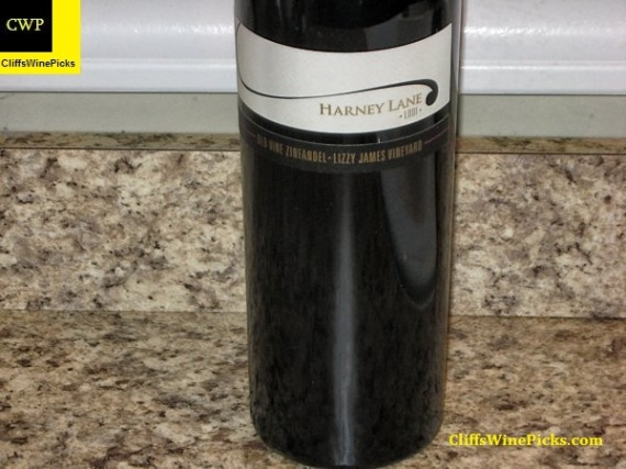 2012 Harney Lane Zinfandel Old Vine Lizzy James Vineyard