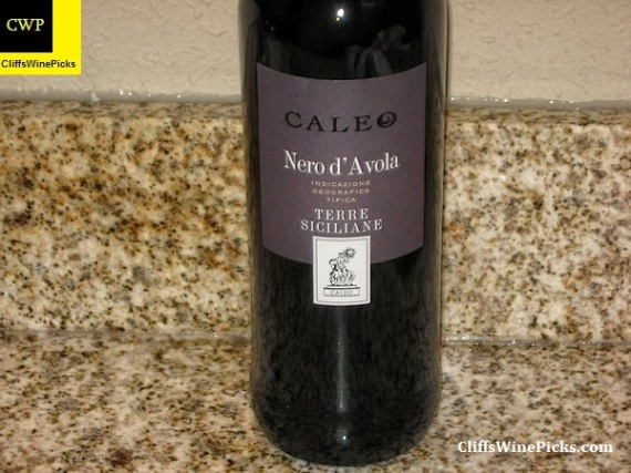 2014 Caleo Nero d'Avola