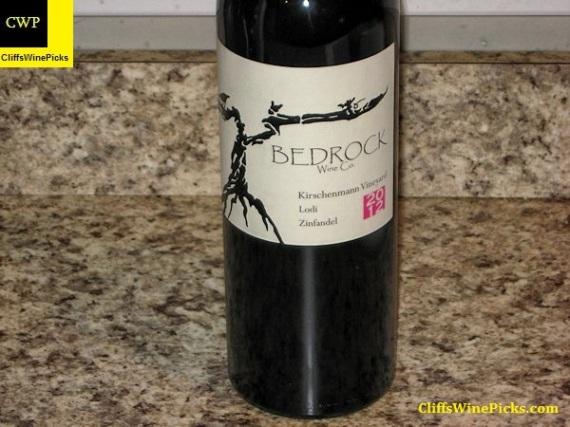 2012 Bedrock Wine Co. Zinfandel Kirschenmann