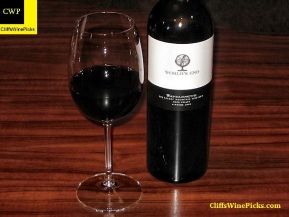 2009 World's End Wavelength Sugarloaf Mountain Vineyard
