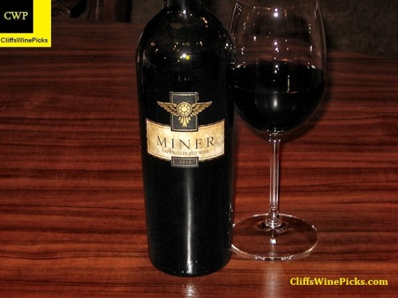 2012 Miner Family Napa Valley Red Wine