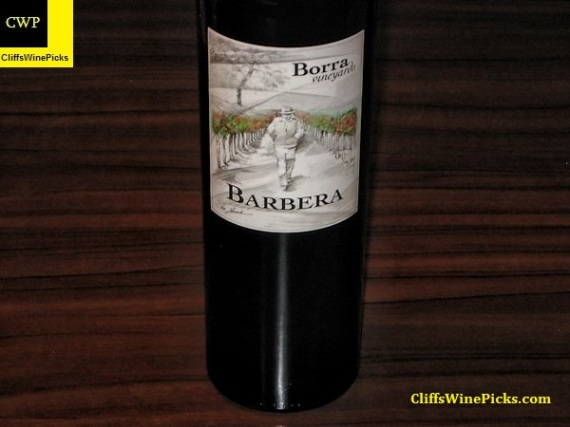2013 Borra Vineyards Old Vine Barbera