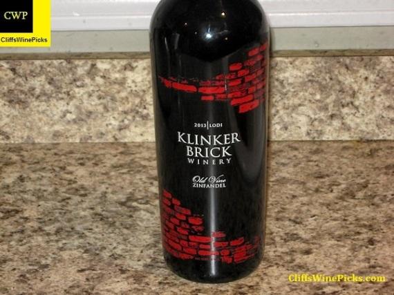 2013 Klinker Brick Zinfandel Old Vine