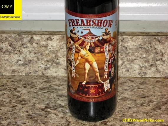 2013 Michael-David Vineyards Cabernet Sauvignon Freakshow