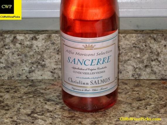 2014 Christian Salmon Sancerre Rose Cuvee Vieilles Vignes