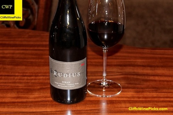 2006 Rudius Syrah Emerald Pool Alder Springs Vineyard