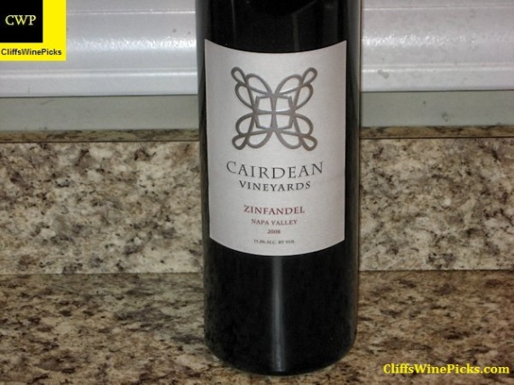 2008 Cairdean Vineyards Zinfandel