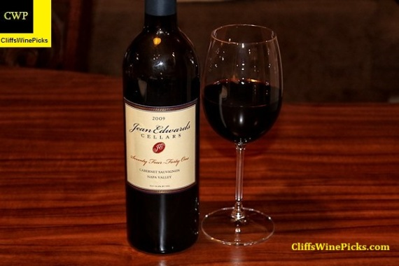 2009 Jean Edwards Cellars Cabernet Sauvignon Seventy Four - Forty One Napa Valley
