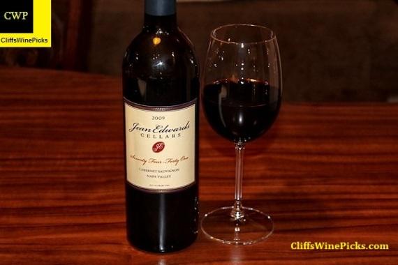2009 Jean Edwards Cellars Cabernet Sauvignon Seventy Four - Forty One Napa Valley