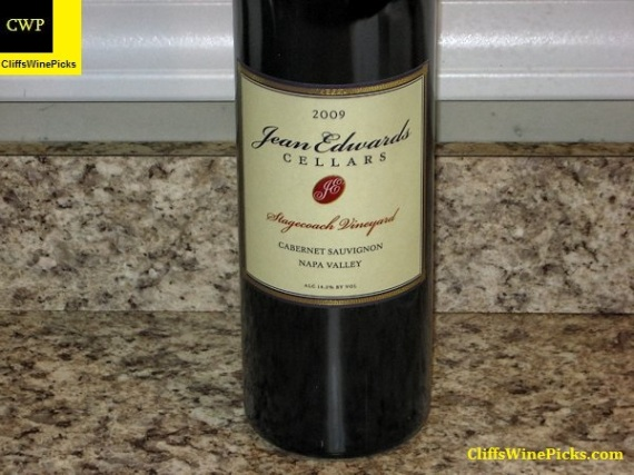 2009 Jean Edwards Cellars Cabernet Sauvignon Stagecoach Vineyard