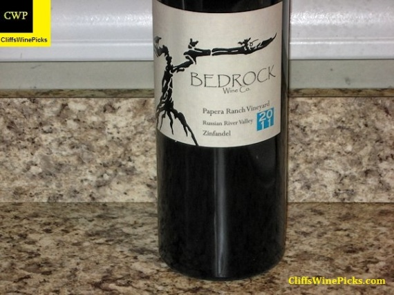 2011 Bedrock Wine Co. Zinfandel Papera Ranch